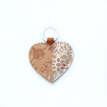 Leather Heart Keyrings - J D'Cruz
