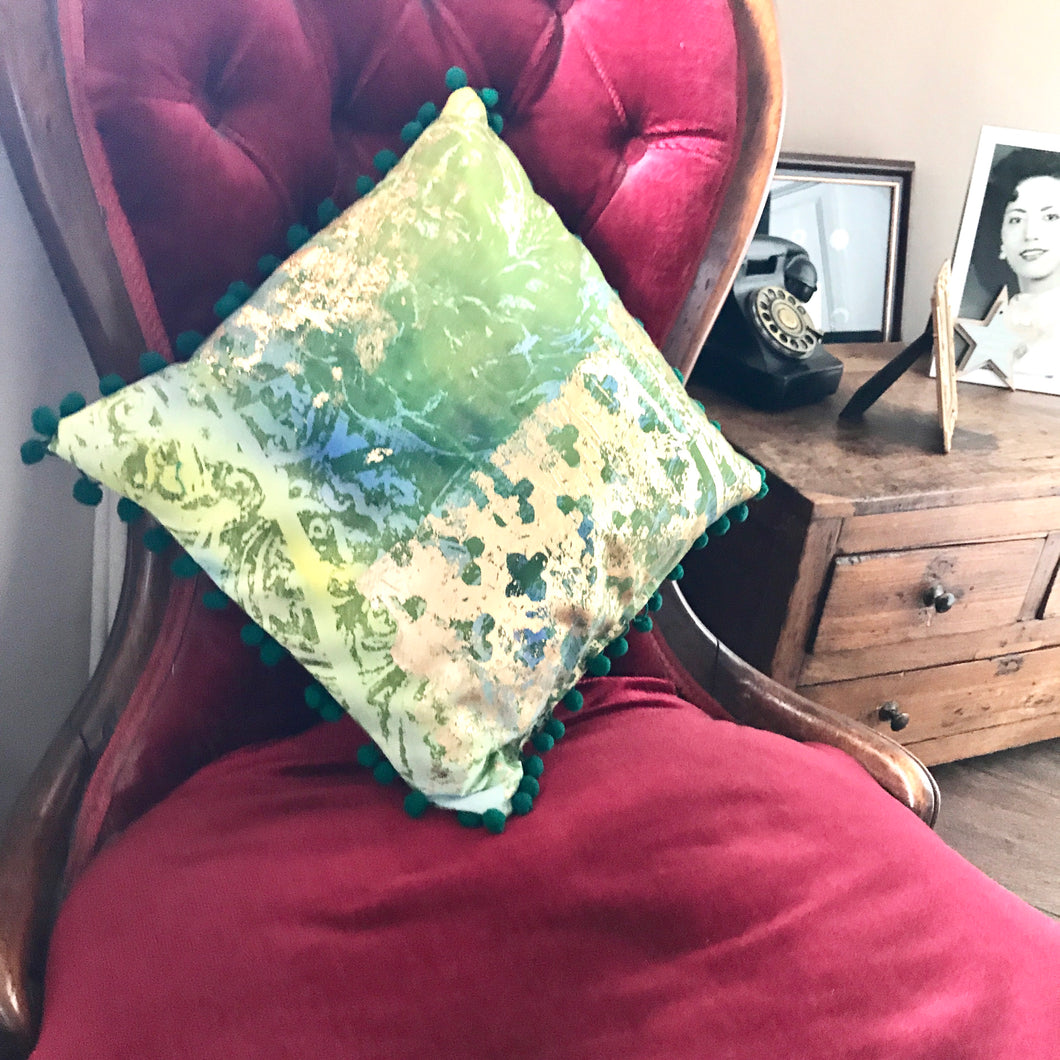 Print and Make a Cushion Workshop - J D'Cruz