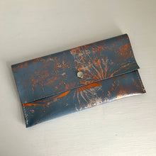 Copper Large Leather Coin Purse - J D'Cruz