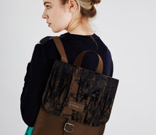 Brown Bronze Leather Rucksack - J D'Cruz