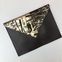 Dark Chocolate Delight Envelope Clutch - J D'Cruz