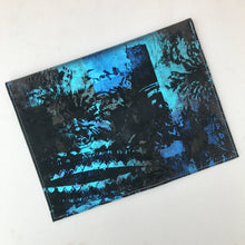 Aqua Marine Envelope Clutch