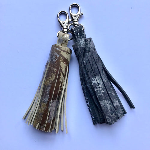 Small Leather Tassel