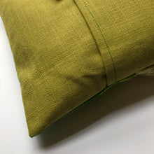 Small Mid Fringe Gold Cushion - J D'Cruz