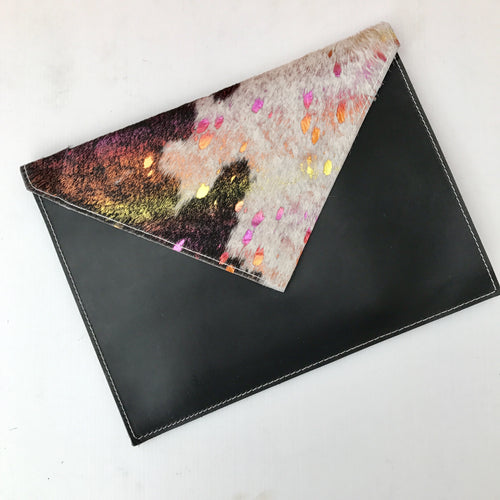 Dark Unicorn Envelope Clutch - J D'Cruz