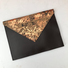 Chocolate Orange Envelope Clutch