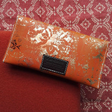 Tangerine Large Leather Coin Purse - J D'Cruz