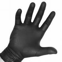 Akers Black Powder Free Nitrile Gloves 5 mil Thick Large (1 box 100 gloves) by Akers