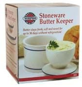 Norpro Stoneware Butter Keeper Pack Of 2