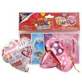 8 Wack-A-Pack Valentine's Day Balloons - Smack to Inflate - Surprise Greeting