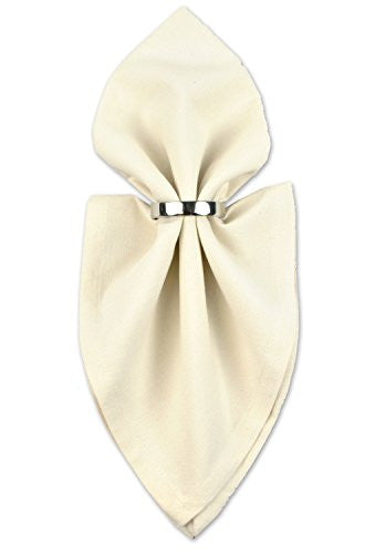 "Dii 100% Cotton Cloth Napkins, Oversized 20x20"" Dinner Napkins, For Basic Everyday Use, Banquets, We"