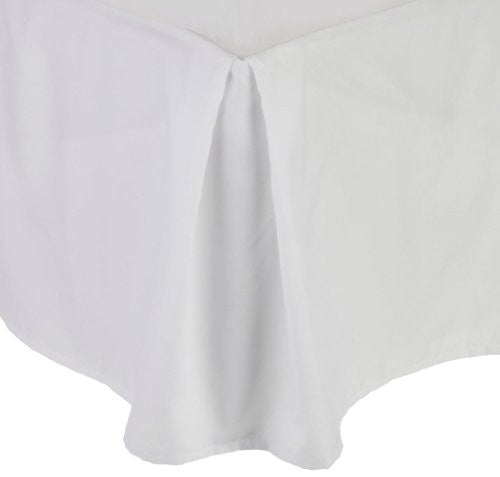 "Clara Clark Premier 1800 Collection Solid Bed Skirt 14"" Drop Pleated Tailored Double Brushed Microfi"