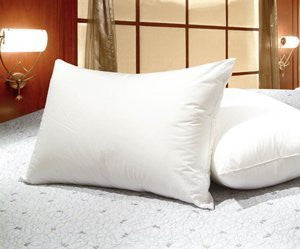 Set Of 4   Queen Size White Goose Feather And Goose Down Pillows   Exclusively By Blowout Bedding Rn