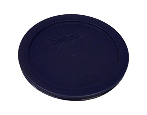 Pyrex Blue 2 Cup Round Storage Cover #7200 Pc For Glass Bowls 4 Pack