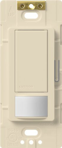 Lutron Maestro Motion Sensor Switch, No Neutral Required, 250 Watts, Single Pole, Ms Ops2 Es, Eggshe