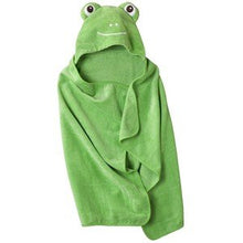 Circo Hooded Green Frog Bath Towel Child Size 100% Cotton Cute Duck