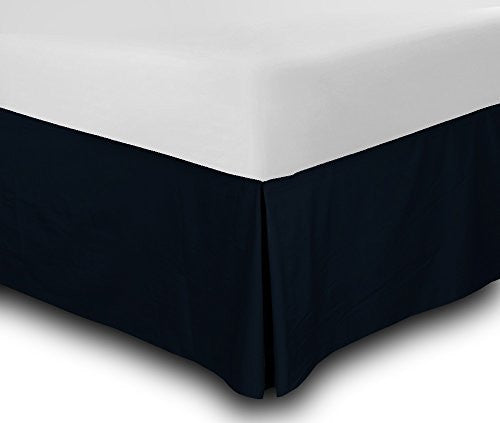 Vgi Linen Hotel Series Luxurious Looking 1 Pc Split Corner Tailored Bed Skirt (Solid) 550 Thread Cou