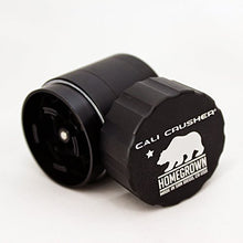 Cali Crusherã'â® Homegrown 4 Piece Pocket Grinder Black