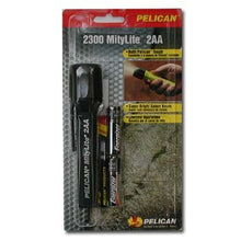 Pelican 2300 MityLite 2AA flashlight, Black