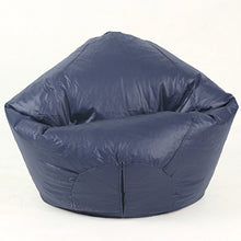 American Furniture Alliance Fun Factory Classic Bean Bag, Large, Navy