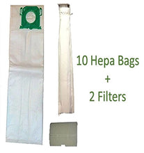 Sebo, Windsor, Kenmore Service Box Vacuum Bag and Filter Kit. 10 Bags + 2 Filters.