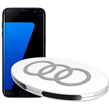 Livoty Tri-Coil Qi Wireless Charger Charging Pad For Samsung S7 Edge