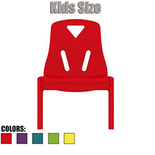 2xhome Kids Size Plastic Side Chair 10