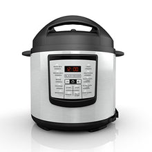 Black+Decker 6 Quart 11 In 1 Cooking Pot, Stainless Steel, Pressure Cooker, Slow Cooker, Multi Cooke