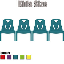 2xhome   Set Of Four (4)   Kids Size Plastic Side Chair 10