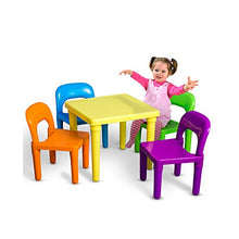 Kids Table And Chairs Play Set Toddler Child Toy Activity Furniture In Outdoor Multi Colored