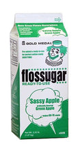 Cotton Candy Floss Sugar Sassy Apple - Net Wt. 3.25lb