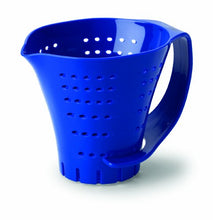 Chef's Planet 2 Cup Measuring Colander, Blue