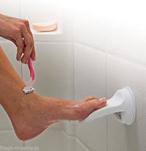 Gsg Home Series Shower Foot Rest Bathroom Shaving Leg Aid Stool Grip Mat Rack Holder Razor!