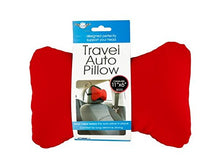 bulk buys OF434-16 Travel Auto Pillow with Strap44; 16 Piece