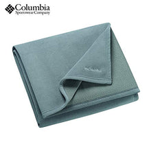 Columbia Sportswear Cozy Soft Fleece Throw Blanket with Thermal Coil Warm Body Heat Insulating Techn Grey