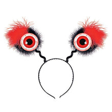Beistle 00530-R 1 Piece Red Eyeball Boppers, One Size Fits Most
