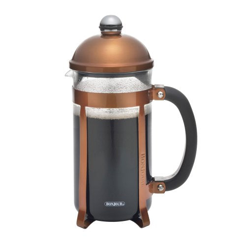 Bon Jour Coffee 8 Cup Maximus French Press, Copper