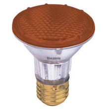 Bulbrite H50PAR20A 120V 50W PAR20 Halogen Light, Amber