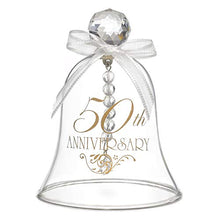 2pk 50th Anniversary Glass Bell-Party Decorations & Supplies