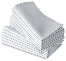 Cotton Dinner Napkins White   12 Pack (20 Inches X20inches) Soft & Comfortable   Expertly Tailored E