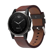 Garmin Fenix 5S GPS Watch Bands Luxury Leather , Gotd Replacement Accessories Bracelet Band Strap Sm