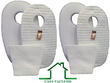 Casa Vacuums Shark Rocket Deluxe Pro & TruePet 2 Foam Felt Filter Kits, Fits HV319Q, HV320, HV320W, HV321, HV322, UV330. Compare to Part #1080FTV320 & 1084FTV320