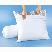 La Redoute Interieurs Flannelette Pillow Protector with Stain Protection Treatment White Size 140 cm