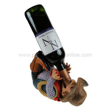 Pacific Giftware Cowboy Wine Bottle Holder