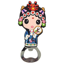 Kylin Express Chinese Peking Opera Characters Beer Bottle Opener Fridge Magnets, K