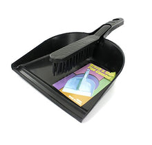 Bulk Buys HB069-36 Dust Pan and Hand Sweeper Set