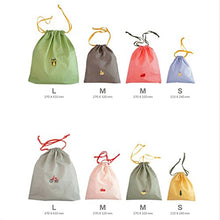 Bonaweite Travelling Light Stuff Sack Packing Reusable Produce Bags Ditty Bag Set of 8