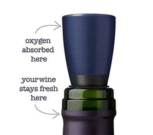 Repour Wine Saver   Wine Preserver And Stopper, Removes Harmful Oxygen From Your Wine, Simply And Ef