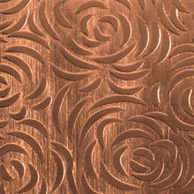 Cool Tools - Textured Metal - Bed of Roses - Copper 20 Gauge