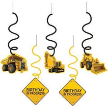 Construction Zone Birthday Whirls by Creative Converting
